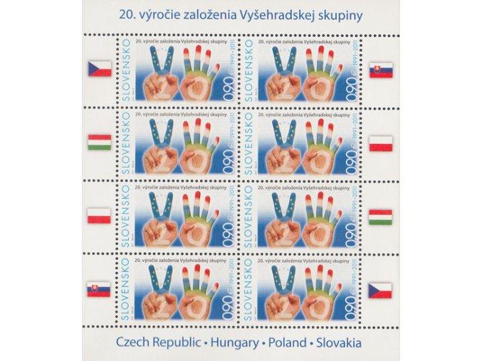 SR 2011 / 491 / 20. výročie založenia V4 PL