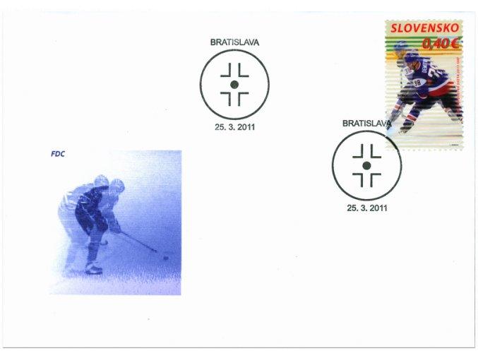 SR 2011 / 493-494 / MS v ľadovom hokeji FDC (2)