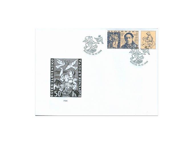SR 1996 / 110 / Deň poštovej známky FDC