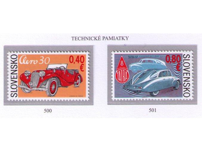 SR 2011 / 500-501 / Technické pamiatky