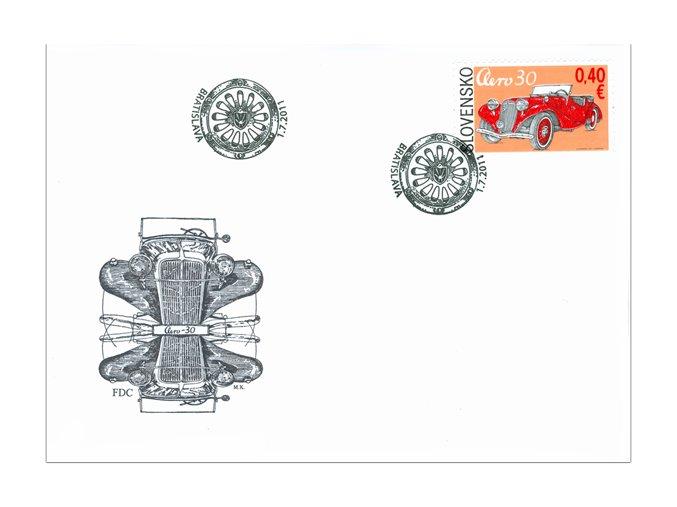 SR 2011 / 500-501 / Technické pamiatky FDC (2)