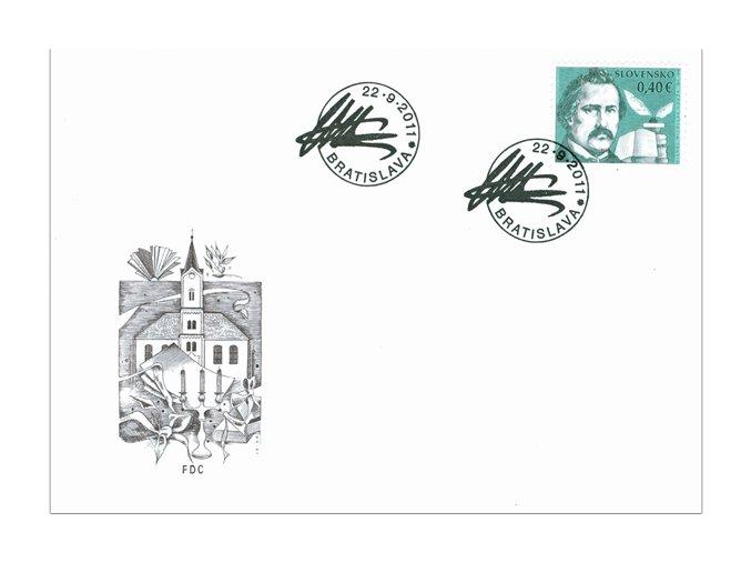 SR 2011 / 504 / Osobnosti - M. M. Hodža FDC