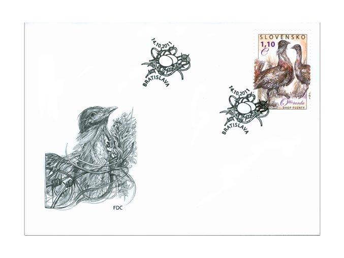 SR 2011 / 505 / Ochrana prírody - Drop fúzatý FDC