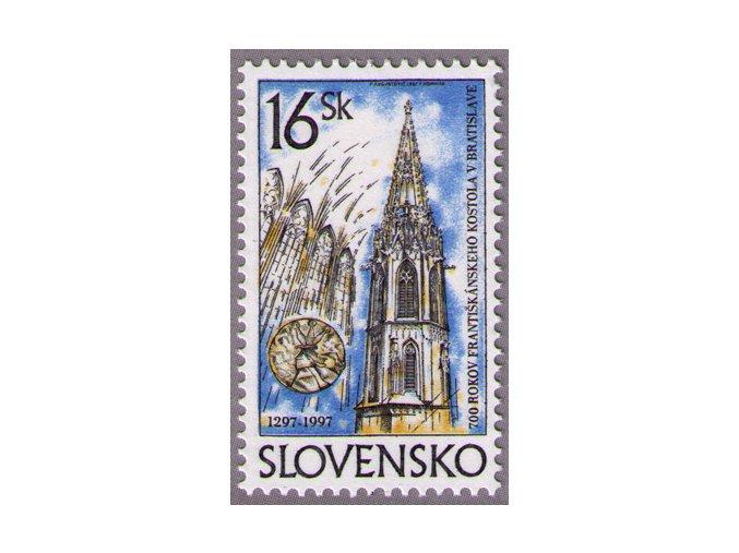 SR 1997 / 115 / 700 rokov františkánskeho kostola v Bratislave
