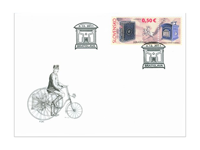 SR 2011 / 508 / Deň poštovej známky FDC