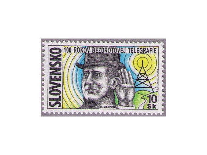 SR 1997 / 117 / 100 rokov bezdrôtovej telegrafie
