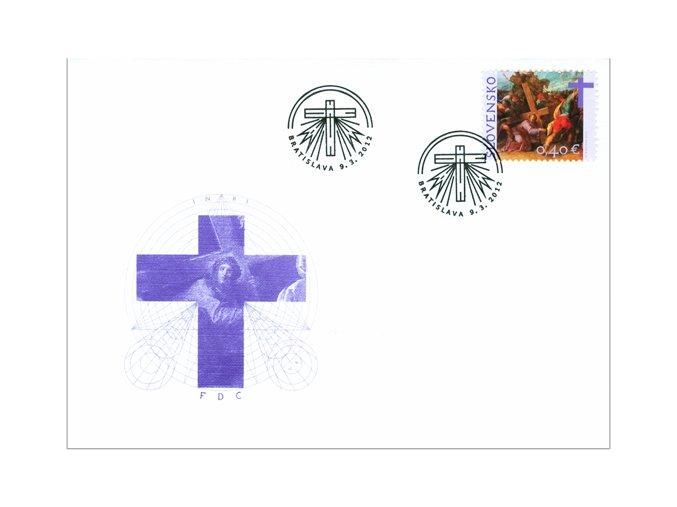 SR 2012 / 513 / Veľká noc / FDC