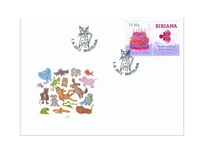 SR 2012 / 516 / Medzinárodný deň detí FDC
