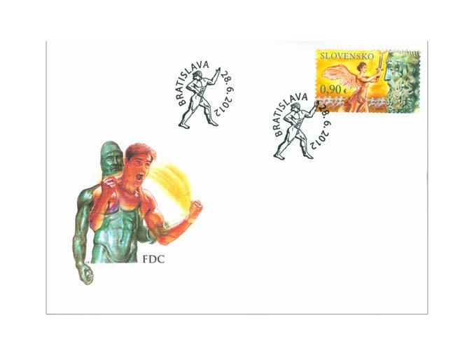 SR 2012 / 519-520 / Olympijské a paralympijské hry Londýn FDC (2)