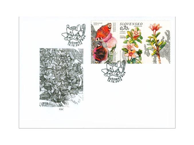 SR 2012 / 524-525 / Ochrana prírody FDC (2)