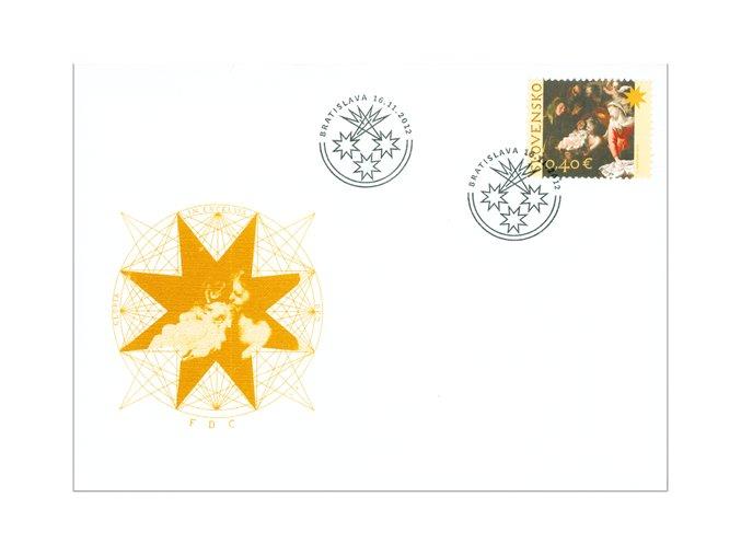 SR 2012 / 527 / Vianoce / FDC