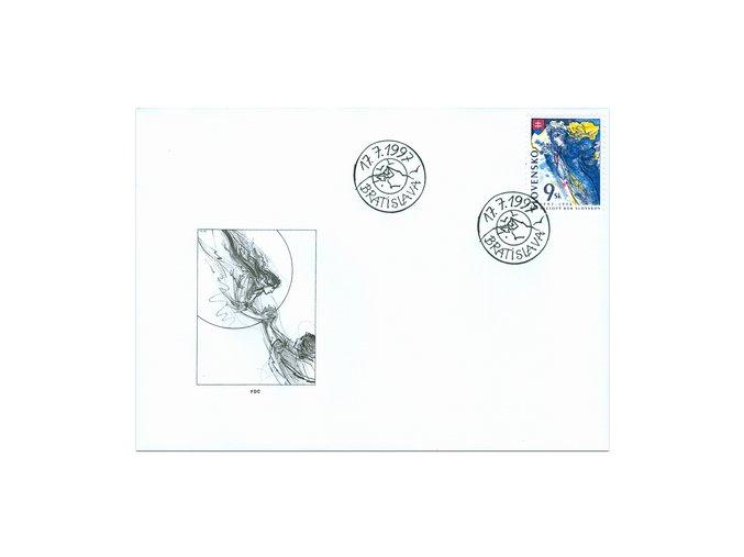 SR 1997 / 123 / Svetový rok Slovákov FDC