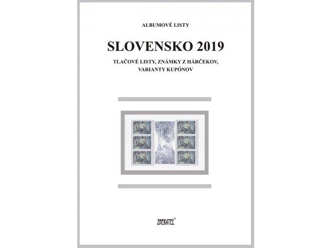Albumové listy SR 2019 II