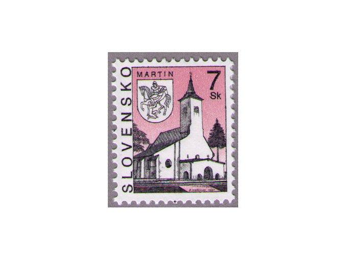 SR 1997 / 124 / Mestá - Martin