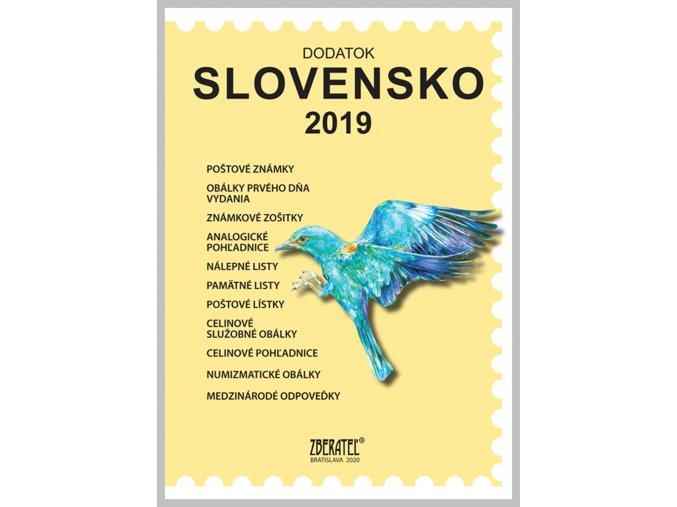 Katalog znamky SR 2019