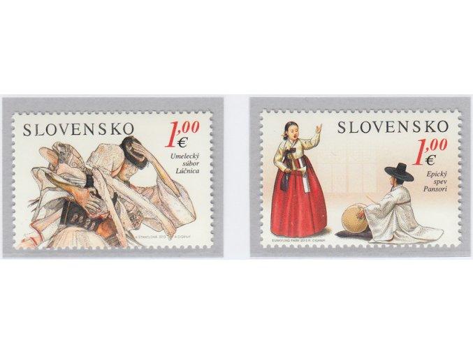 SR 2013 / 539-540 / Umelecký súbor Lúčnica a Epický spev Pansori