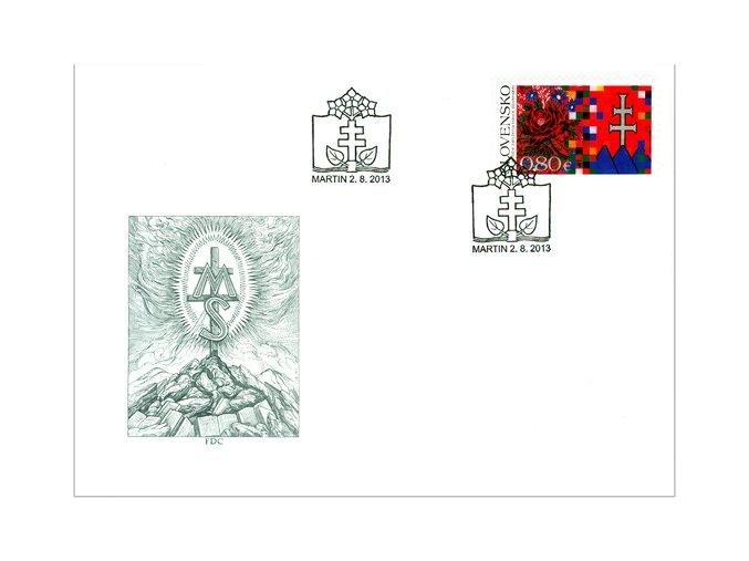 SR 2013 / 544 / 150. výročie založenia Matice slovenskej FDC