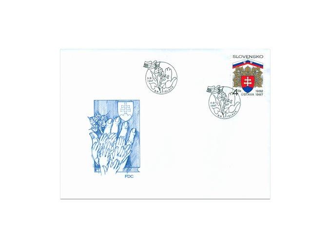 SR 1997 / 127 / Ústava Slovenskej republiky FDC
