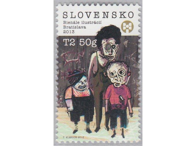 SR 2013 / 545 / Bienále ilustrácií Bratislava