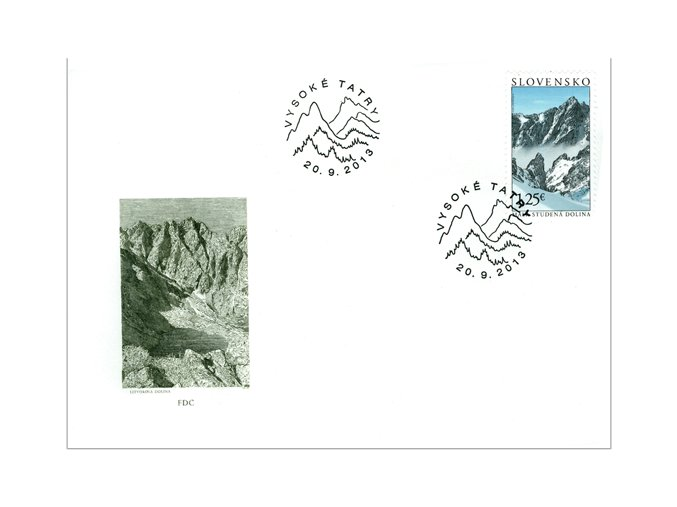 SR 2013 / 546-547 / Krásy našej vlasti FDC (2)