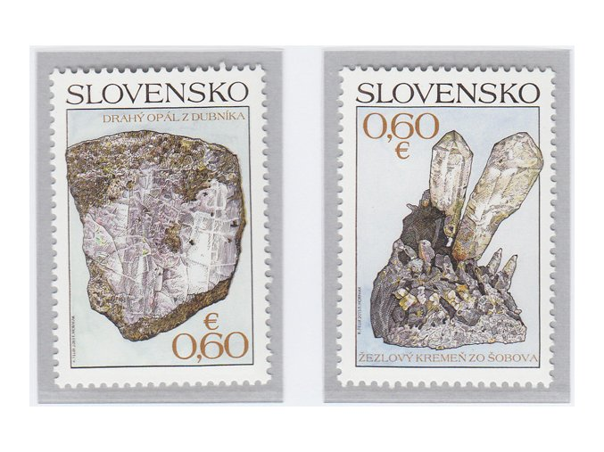 SR 2013 / 548-549 / Ochrana prírody - Slovenské minerály
