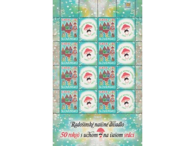 SR 2013 / 550 / Vianočná pošta PL