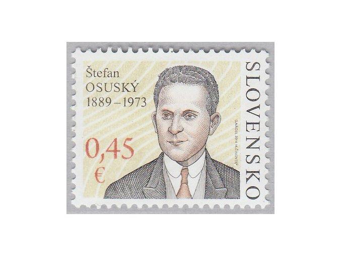 SR 2014 / 560 / Osobnosti - Štefan Osuský
