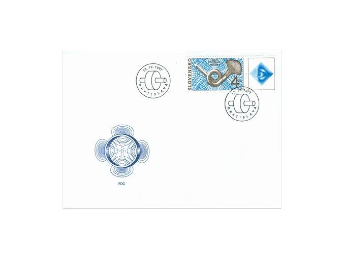 SR 1997 / 139 / Deň poštovej známky FDC