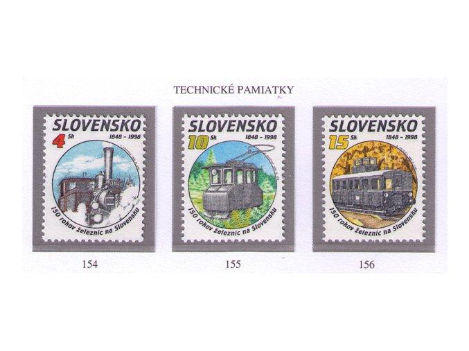 SR 1998 / 154-156 / Technické pamiatky