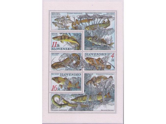 SR 1998 / 157-159 H / Ochrana prírody - ryby