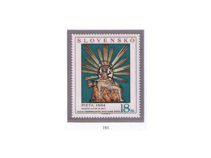 SR 1998 / 161 / Sedembolestná Panna Mária v Šaštíne
