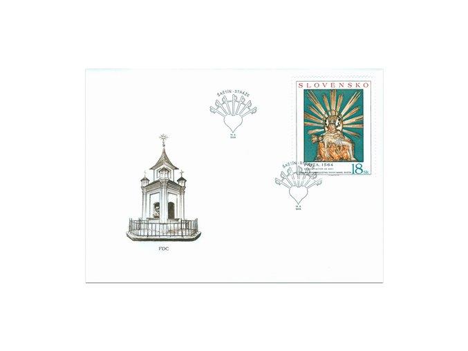SR 1998 / 161 / Sedembolestná Panna Mária v Šaštíne FDC