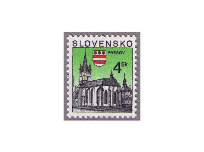 SR 1998 / 166 /  Mestá - Prešov
