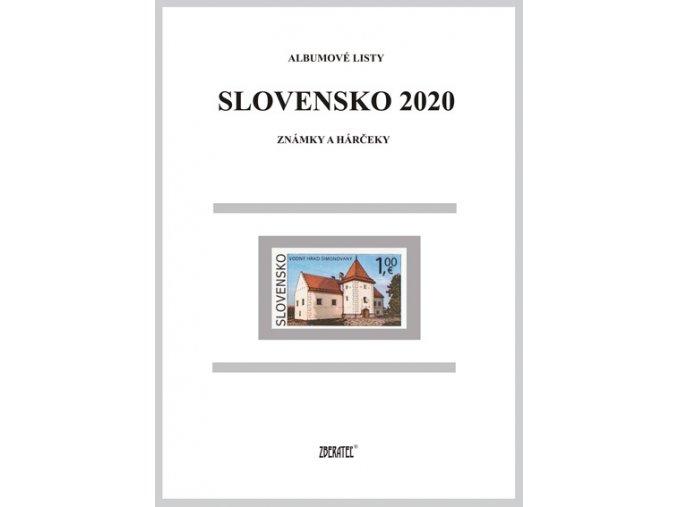 Albumové listy SR 2020 I