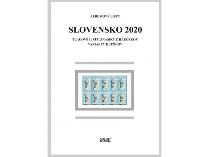 Albumové listy SR 2020 II