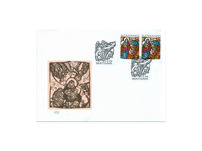 SR 1998 / 167 / Vianoce FDC