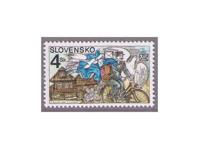 SR 1998 / 168 / Deň poštovej známky