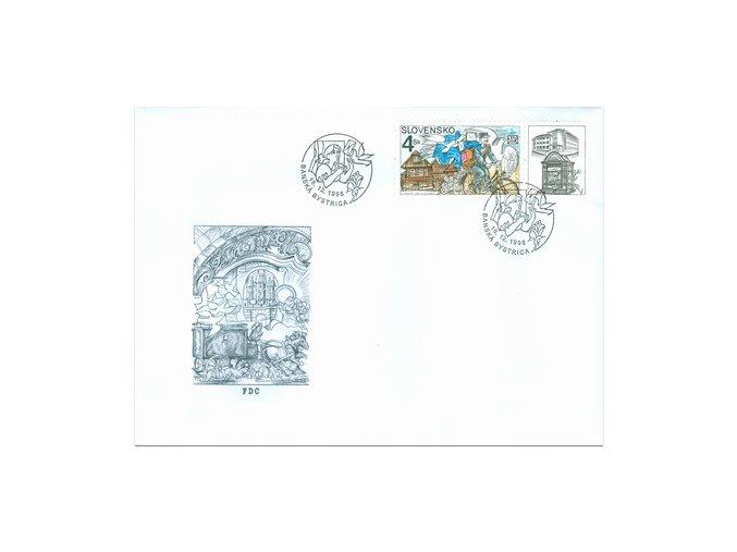 SR 1998 / 168 / Deň poštovej známky FDC