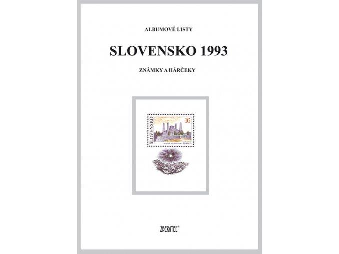 Albumové listy SR 1993 I