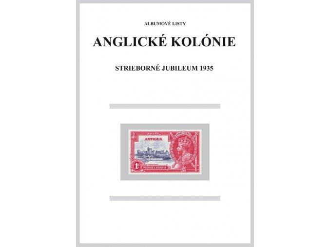 Albumové listy angl kol 1935 Strieborné jubileum