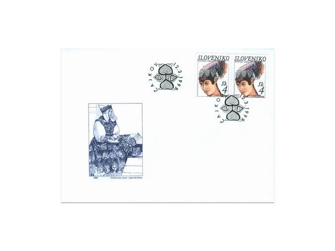 SR 1999 / 173-175 / Krásy našej vlasti FDC (3)