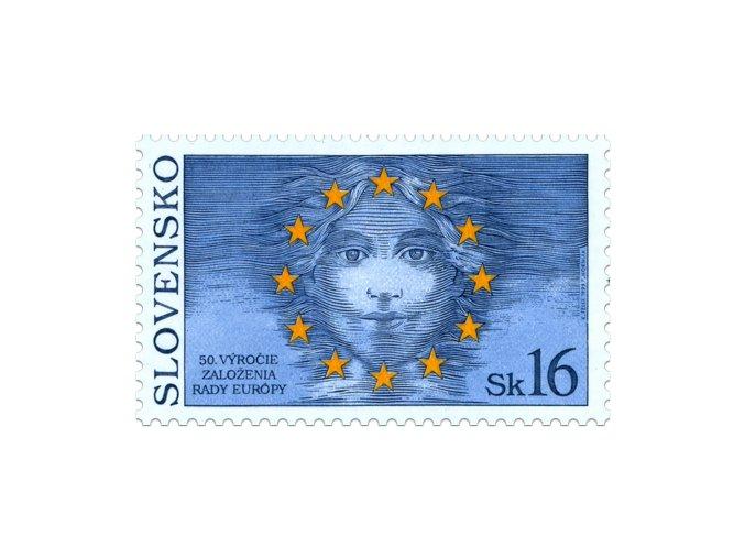 SR 1999 / 179 / 50. výročie založenia Rady Európy