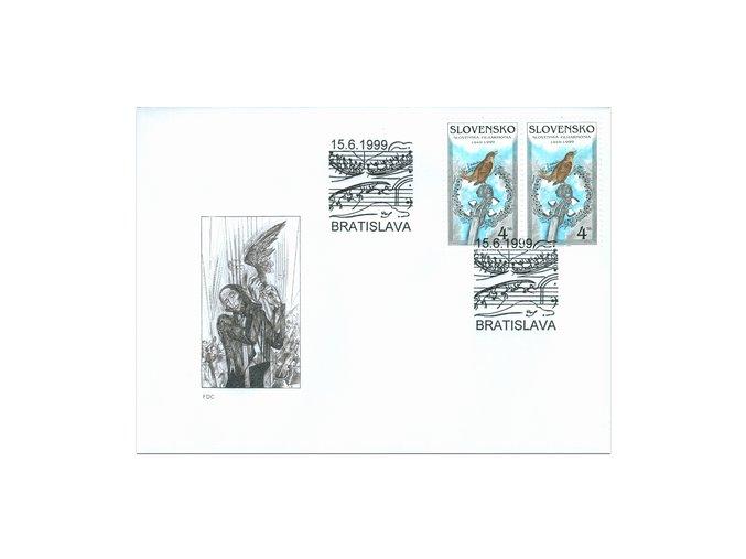 SR 1999 / 181 / Slovenská filharmónia FDC