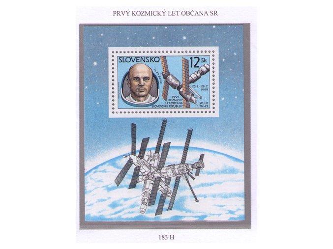 SR 1999 / 183 H / Prvý kozmický let občana SR