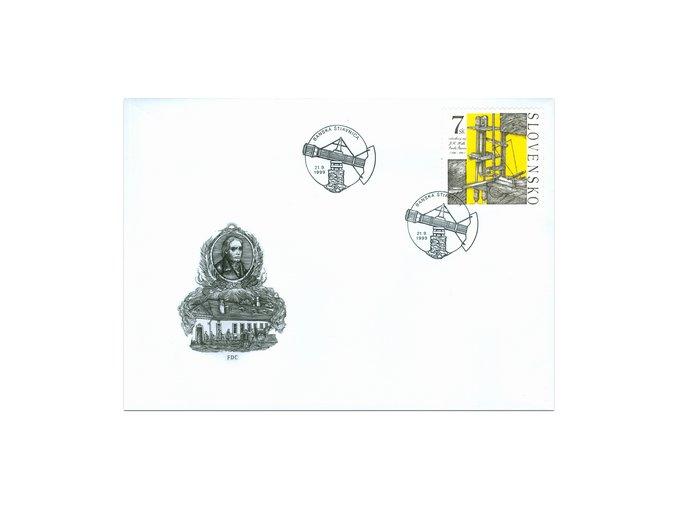 SR 1999 / 188 / Technické pamiatky FDC