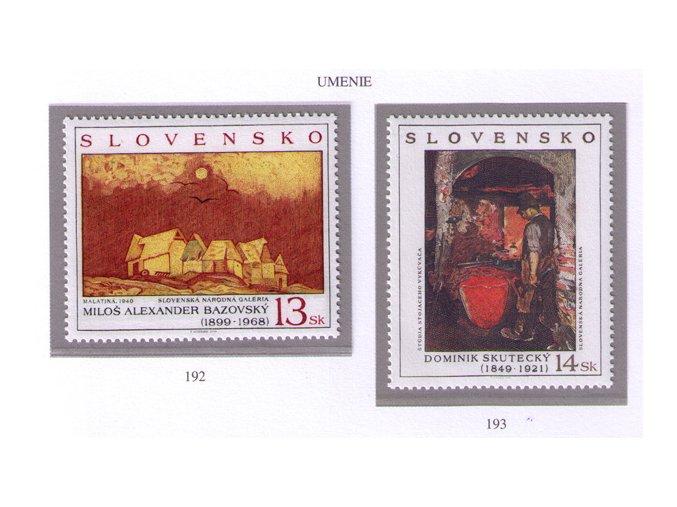 SR 1999 / 192-193 / Umenie