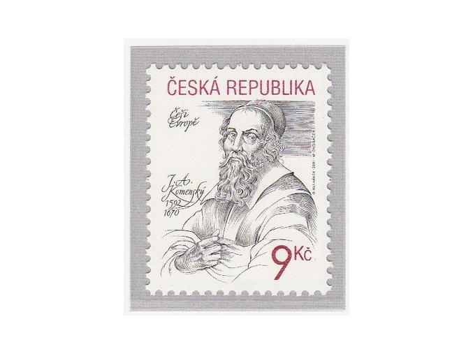ČR 284 Češi Európe - Jan Ámos Komenský