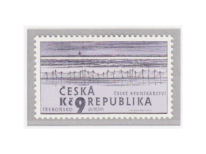 ČR 290 EUROPA - voda - české rybníky