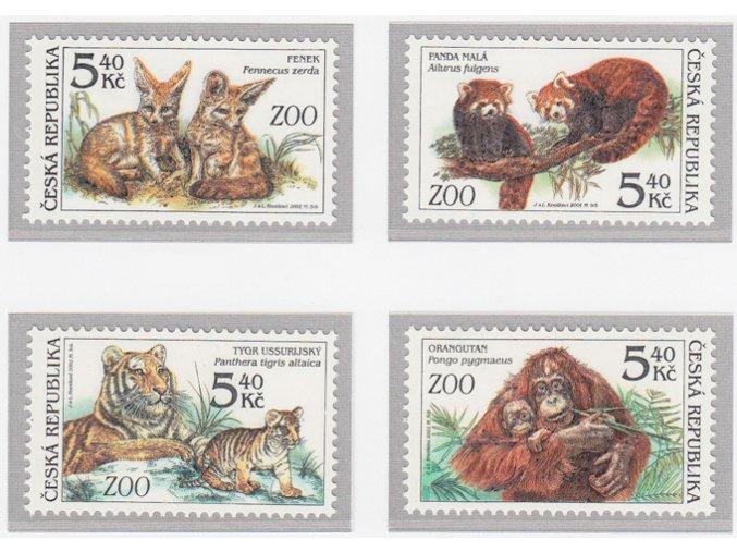 ČR 300-303 Ochrana prírody - zvieratá v ZOO