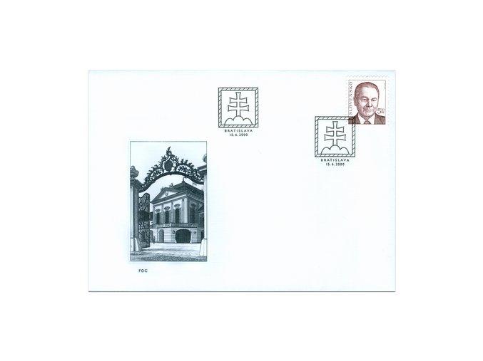 SR 2000 / 211 / Prezident SR Rudolf Schuster FDC